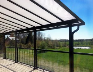 Acrylic Patio Cover Black